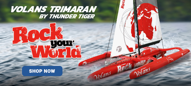 Thunder Tiger Boat