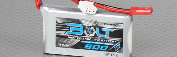 Turnigy Bolt Batteries