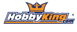 [The logo for the scale model distributor Hobby King]